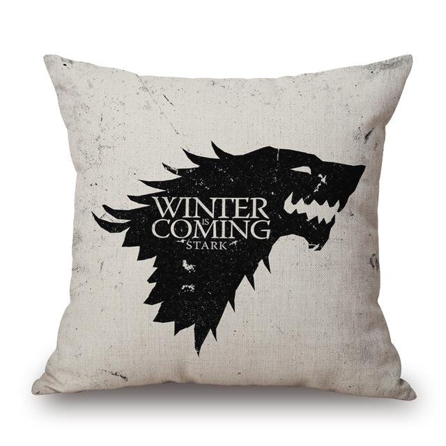 Game of Thrones Linen Cotton Pillow Case