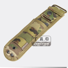 Emerson Tactical Combat Fixed Blade MOLLE Multi-Use Survival Handle Knife Sheath Case Pouch for SOG M37 140 141 w/ Hard Liners цена 2017