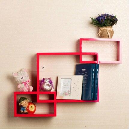 Луи Мода панель настенная полка современный простой подвесной креативный плед гостиная столовая декоративный фон - Цвет: gules