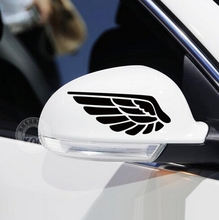 Funny One Pair Wing Car Styling Motorcycle Sticker Vinyl Decal Reflective Personalized Waterproof Free Shipping