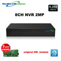 HD H 265 8CH NVR 1080P CCTV NVR Security 8 Channel Network Video Recorder Support ONVIF