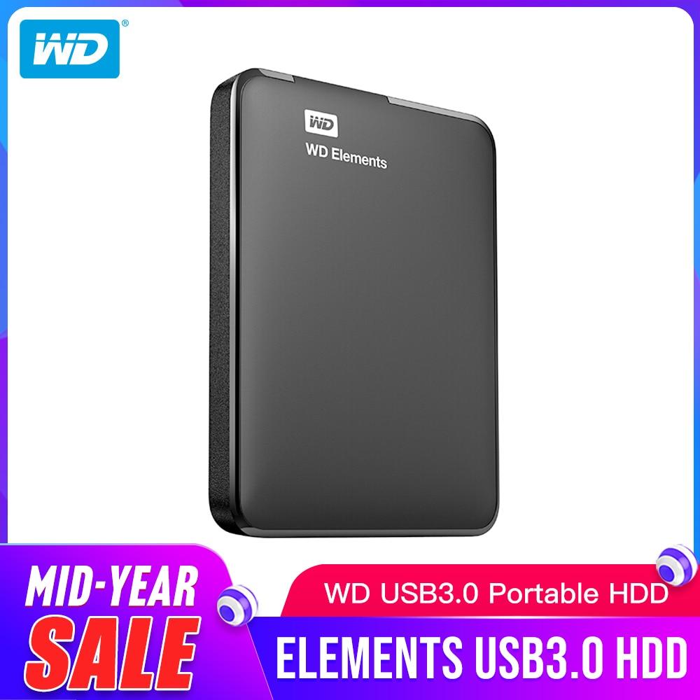 Western Digital 4TB WD Elements HDD USB 3.0 Portable External Hard Drive New