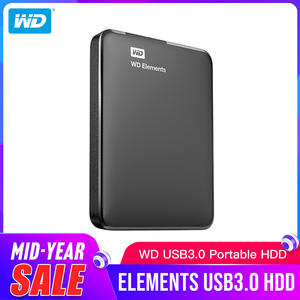 Drive-Disk Laptop Wd-Elements External-Hdd Portable Original 1TB USB for PC Digital