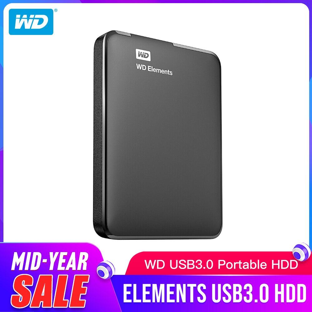 Western Digital WD Elements Portable disque dur externe 2.5 USB 3.0 disque dur 1 to Original pour ordinateur Portable-in Disques durs externes from Ordinateur et bureautique on AliExpress - 11.11_Double 11_Singles' Day 1