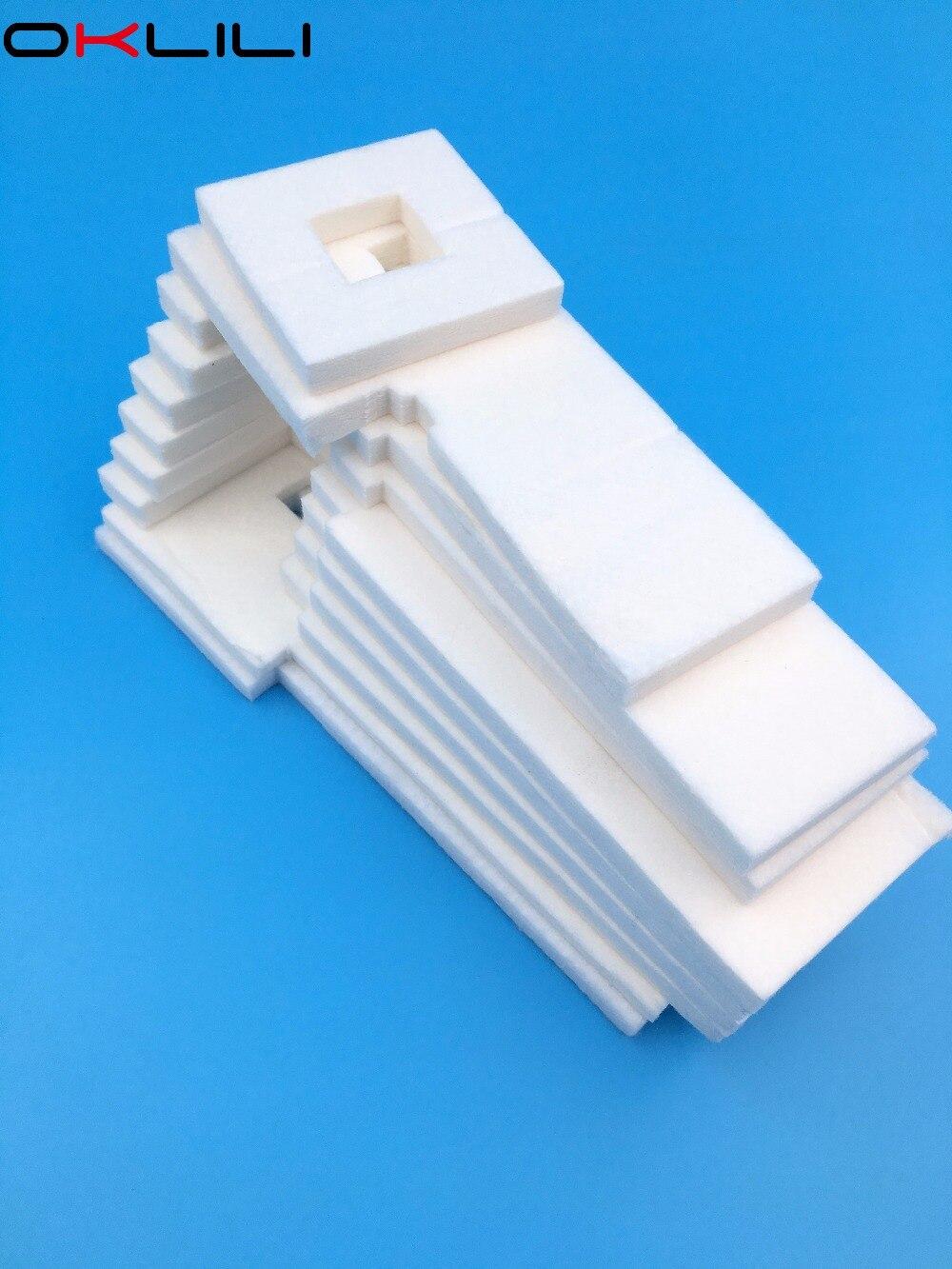 Begeistert 5 Stück Tablett Porösen Pad Abfall Tinte Tank Schwamm Für Epson Et-4500 L550 L551 L555 L558 L565 L575 L566 M200 M100 M105 M205 Wf2010 Wf2510 Modische Muster