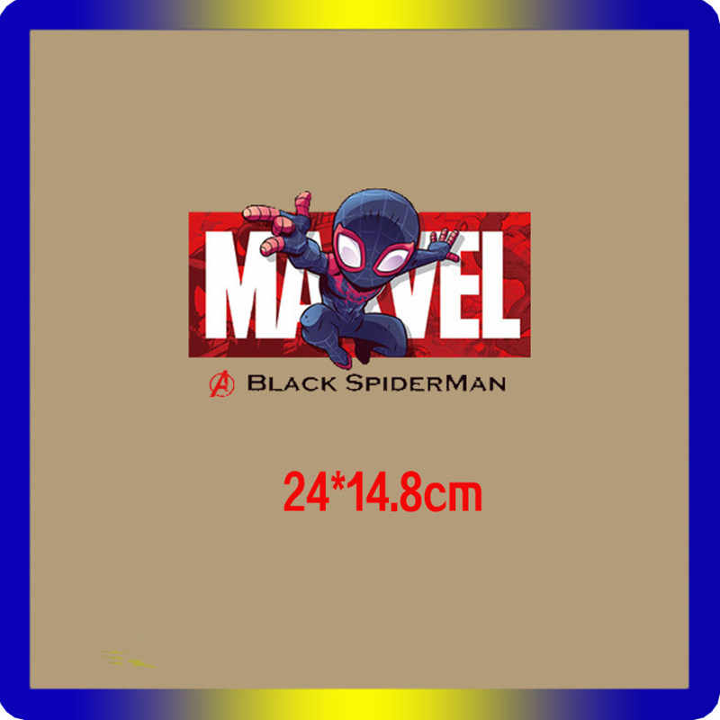 Il Meraviglie di Avengers Deadpool Spiderman Iron Man patch vestiti del fumetto adesivi di ferro sul trasferimento per il ragazzo uomo T-Shirt di patch