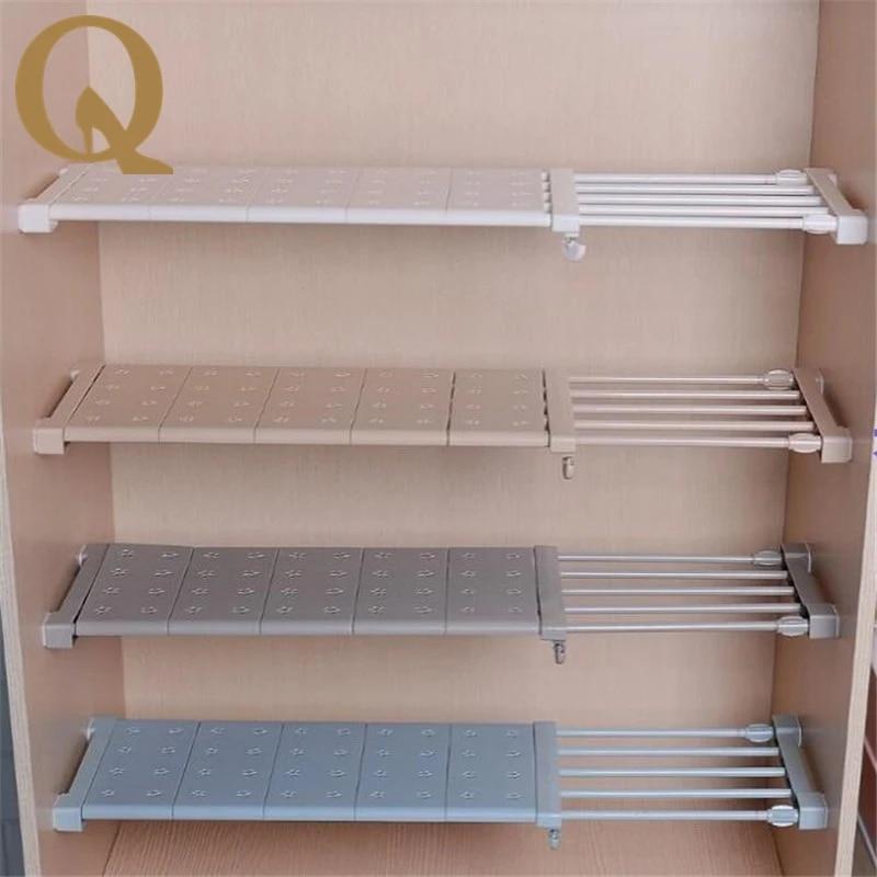 grosse vente etagere de rangement pour armoire panneau de separation superpose sans clous cuisine salle de bain cloison telescopique