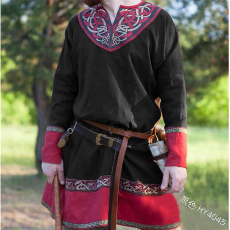 Detail Feedback Questions about Medieval Larp Tunic Shirt
