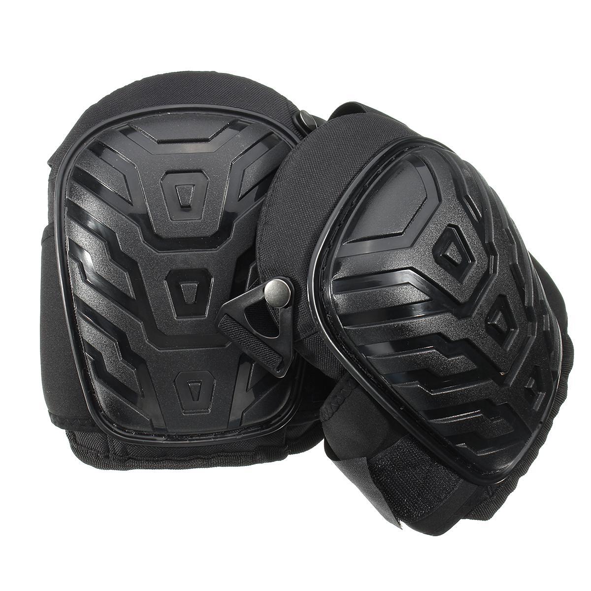 Nueva seguro conjunto de 2 rodilleras construcción par confort pierna protectores de espuma lugar Seguridad auto protección