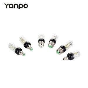 Image 4 - E27 E14 220V LED Lamp 5730 SMD LED Corn Bulb Lampada Ampoule Lighting 24 27 30 36 59 69 72 Leds Lamp Bombillas Light Bulbs