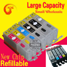 For Canon TS8020 TS9020 TS 8020 TS 9020 Refillable ink cartridge PIxma printer 6C ink cartridge PGI270(China)
