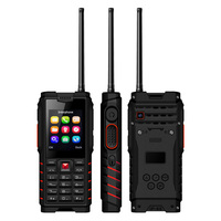 ioutdoor T2 UHF Antenna Walkie Talkie PTT Dual SIM Rugged Mobile Phone IP68 Waterproof 4500mAh MP3 Unlocked Dustproof Cell Phone
