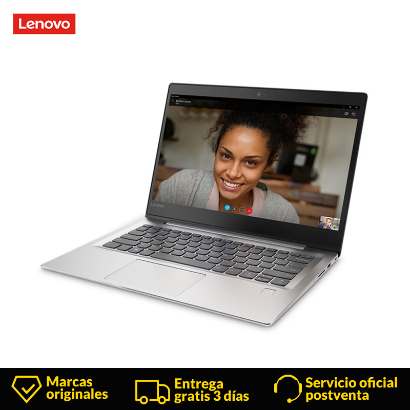 Original Laptop Lenovo Ideapad 520S Notebook 14 Inch Laptop 7th intel Core i3 7130U 4GB, RAM 128GB Grey SSD 1920x1080 Resolution
