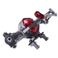 Kid Toy 1/10 Scx10 Remote Control Car Toy Metal Front And Rear Axle Pair with Arm CNC Machined RC Crawler