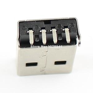 Image 3 - 100 pièces par Lot USB Type A 4 broches mâle Angle droit DIP connecteur bricolage
