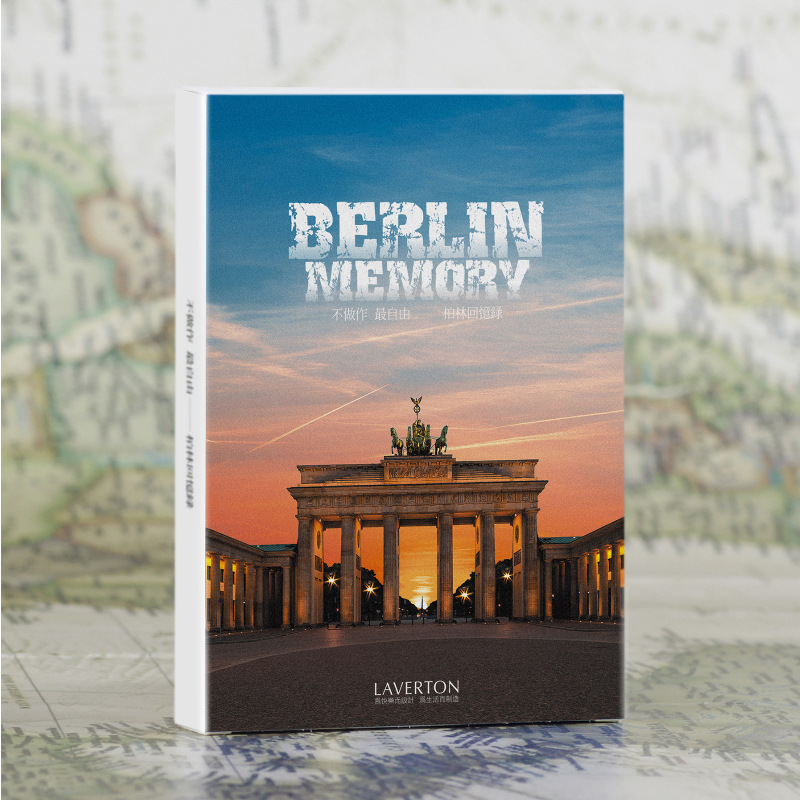 30 sheets/LOT Berlin Memory Scenery Postcard /Greeting Card/Wish Card/Christmas and New Year gifts30 sheets/LOT Berlin Memory Scenery Postcard /Greeting Card/Wish Card/Christmas and New Year gifts