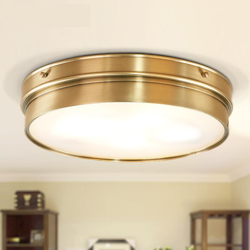 Aliexpress Buy Kitchen Vintage Copper Ceiling Lamp