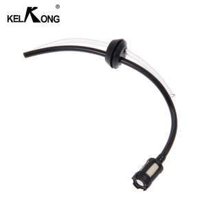 Image 4 - KELKONG 1Pc Fuel Hose Oil Pipe + Tank Fuel Filter With 2 Holes Rubber Washer For Grass Strimmer Trimmer Brush Cutter Tool Parts
