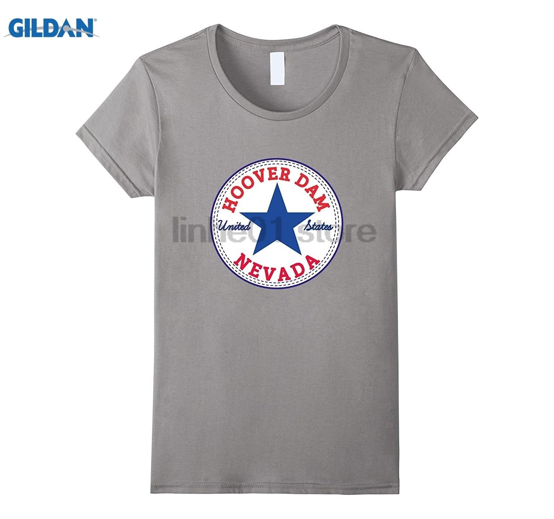 Возьмите плотины Гувера NEVADA Аризона США Соединенные Штаты футболка Для женщин футболк ...