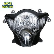 For 06-07 Suzuki K6 GSXR600 GSXR750 GSX-R 600 750 Motorcycle Front Headlight Head Light Lamp Headlamp Assembly 2006 2007 free shipping motorcycle front headlight front headlamps assembly for suzuki gsxr600 gsxr750 k4 04 05 year