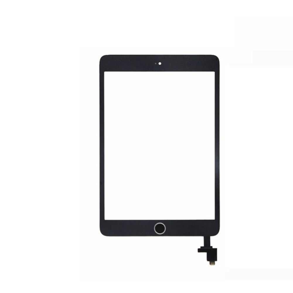 Netcosy A1432 A1454 A1455 A1489 A1490 A1491 ل ipad mini 1/2 اللمس زجاج الشاشة لوحة مرقمة المنزل زر مع IC Conector