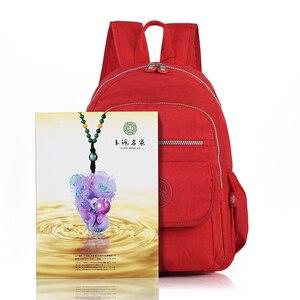 Image 4 - TEGAOTE Kleine Rucksack für Teenager Mädchen Design Schwarz Rucksäcke Frauen Luxus Bolsa Casual Nylon Wasserdichte Bagpack Mochila 2020