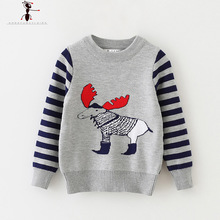Animal O-neck Hot Winter Spring Autumn Sweater Kids Truien Enfant Clothes Jongens Trui High Quality Roupas Infantis Menino 2520