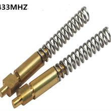 100 шт 433 МГц/GSM/CDMA(рупорная антенна медный осциллятор+ пружина