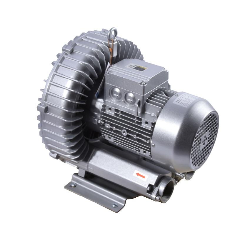 New Hot 2RB710-7AH26 Vortex Blower Industrial Vacuum Regenerative Blower High Pressure Air Blower 3KW/3.45KW 220v/380v 50Hz/60Hz jqt 1100 c vortex gas blower side channel blower small air blower dry vacuum pump