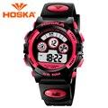 Brand design mujeres digital reloj LED relojes de las mujeres reloj deportivo digital impermeable al aire libre del relogio feminino montre femme Clásico