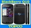 "Original blackberry q10 desbloqueado teléfono móvil de doble núcleo de 3.1 ""pantalla táctil QWERTY 3G y 4G GSM 8MP RAM 2G 16G ROM dropshipping"