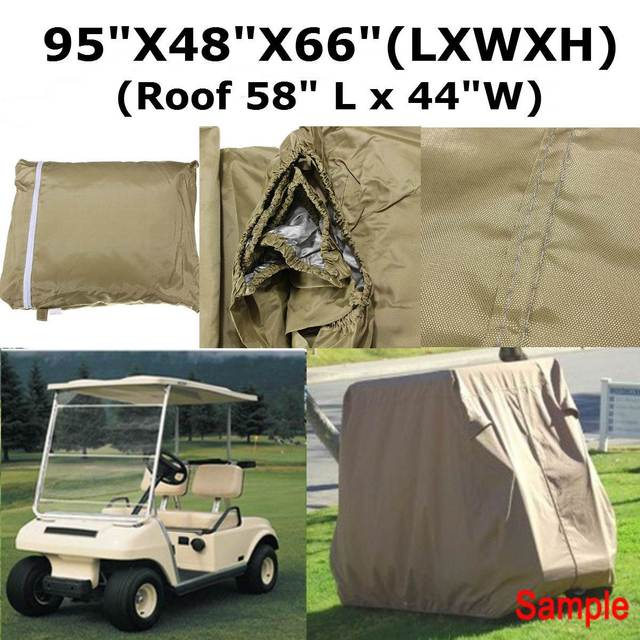 210D 2 Penger Auto Person Taupe Golf Cart Cover Waterproof For ... Yamaha Golf Cart Covers For Club Html on golf cart rain cover, club car rain cover, yamaha club cars, yamaha drive golf cart cover, custom golf cart enclosure cover, 4 person golf cart club cover, universal golf cart cover, golf cart for golf club cover, yamaha drive club cover, golf bag rain cover, golf cart waterproof cover, golf bag cart cover, club car golf cart cover, golf bag club cover, club car club cover, yamaha golf cart storage cover, yamaha gas cart covers club,