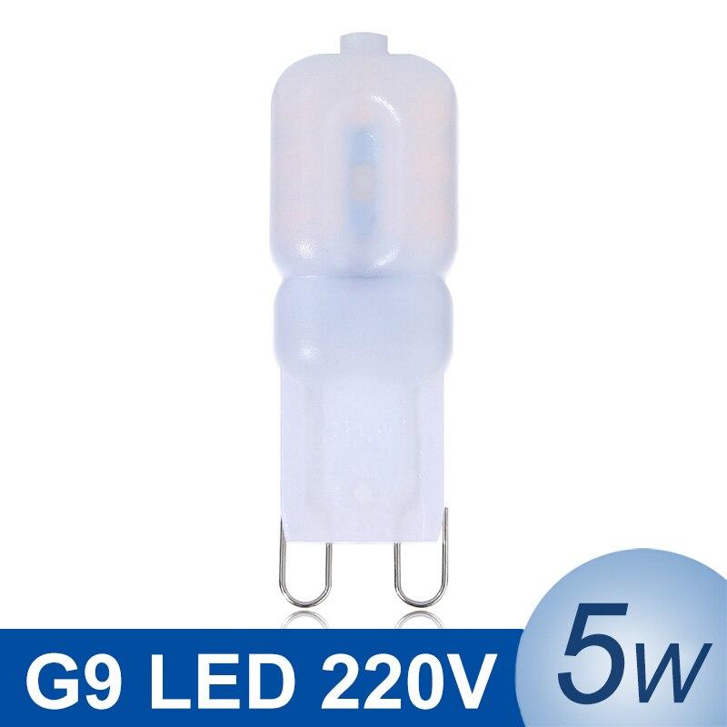 Mini Led G9 Light 5w Smd2835 G9 Led Lamp 220v 240v Led