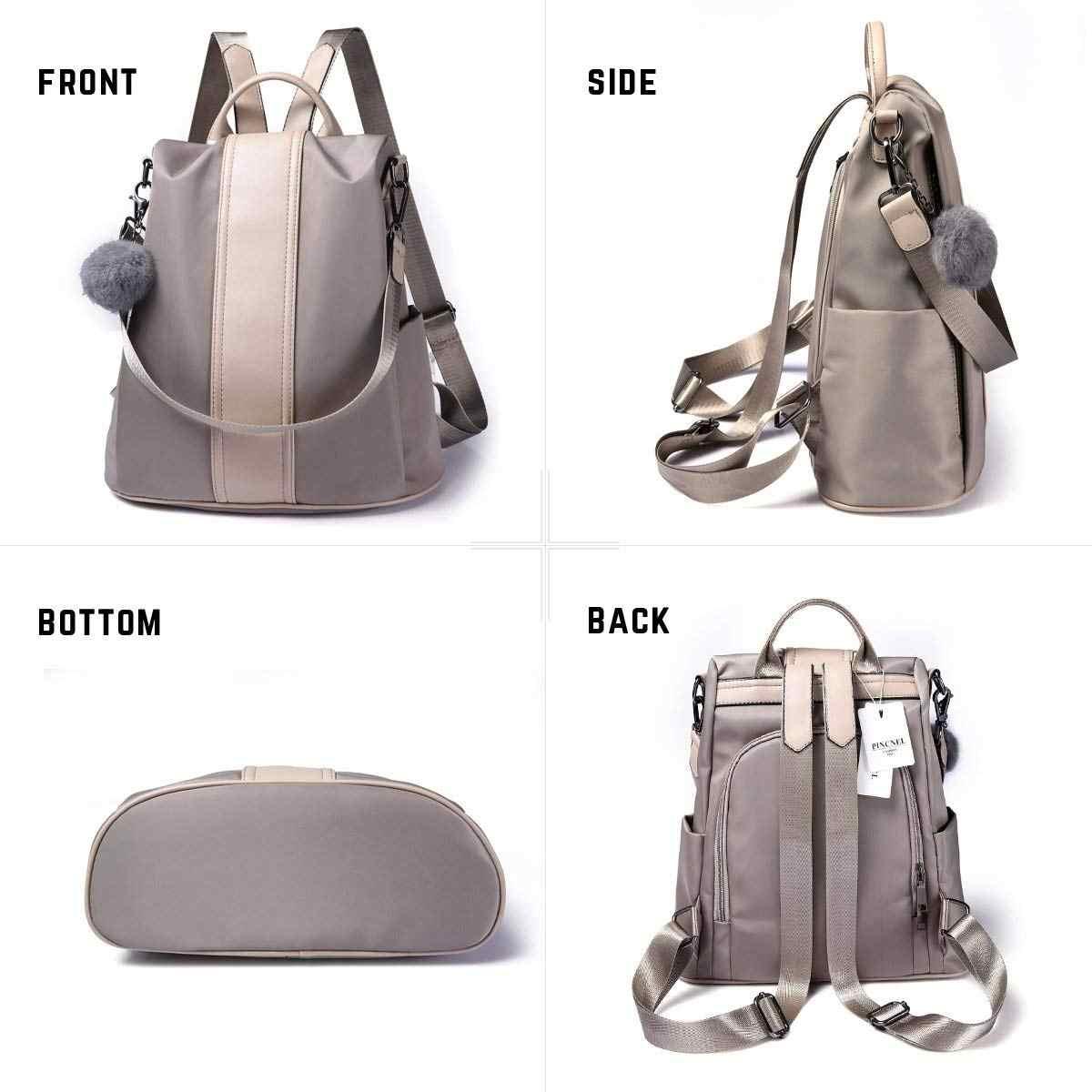 6cc7e9ebeafd ... Women Backpack Purse Waterproof Anti-theft Rucksack Lightweight School  Shoulder Bag ...