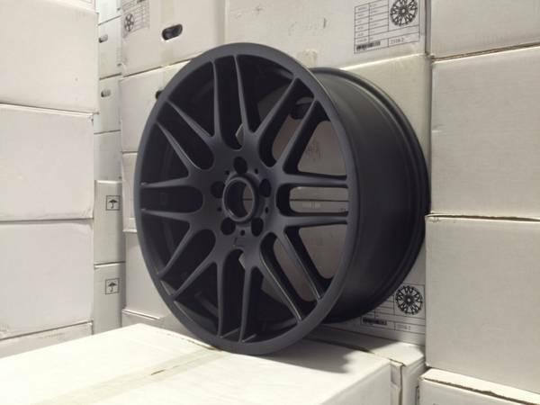 19 Quot Csl M3 Black Style Rims Wheels Fits Bmw 323xi 325i