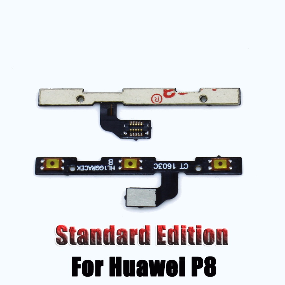 1PCS New Volume side button on/off power switch flex cable For Huawei P8 / P8 Lite Phone