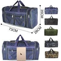 80L Waterproof Luggage Gym Bags Nylon Travel Training Fitness Bag for Women Men Duffle Outdoor Handbags Sack Sac De Sport Bag