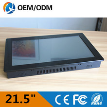 21.5 inch industrial touch screen pc resolution 1920x 1080 embedded all in one pc Installation desktop/wall hanging/embedded