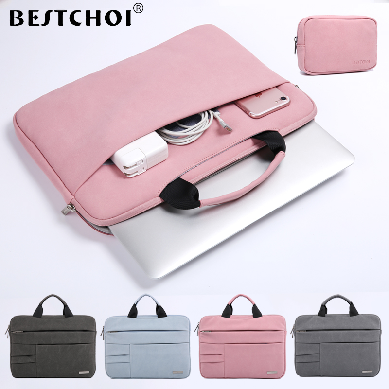 New BESTCHOI Tablet Sleeve Bag for Microsoft Surface Pro 3 4 5 Waterproof Tablet Case 12 inch Women Men Solid Laptop Bag megoo surface pro 4 case sleeve bag cover with handle pocket briefcase for xiaomi air 12 5 microsoft new pro4 3 5 12 3