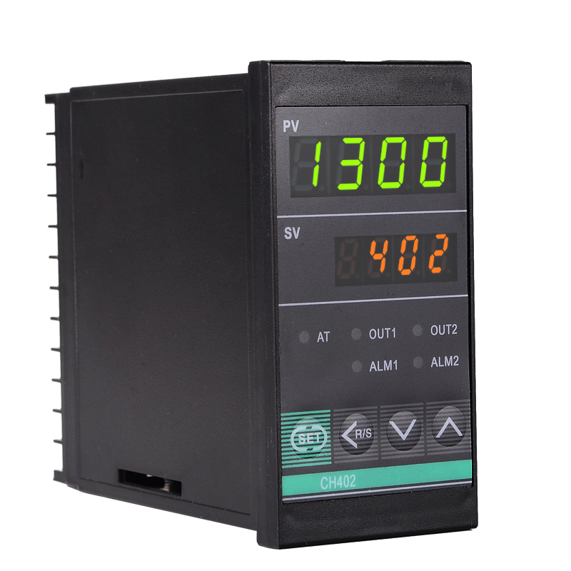 Sütő hőszabályozó digitális hőmérséklet-szabályozó PID - Mérőműszerek - Fénykép 2