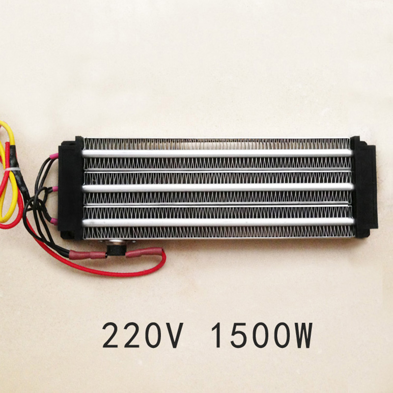1500W ACDC 220V incubator PTC ceramic air heater constant temperature heating element 230*76mm цена и фото