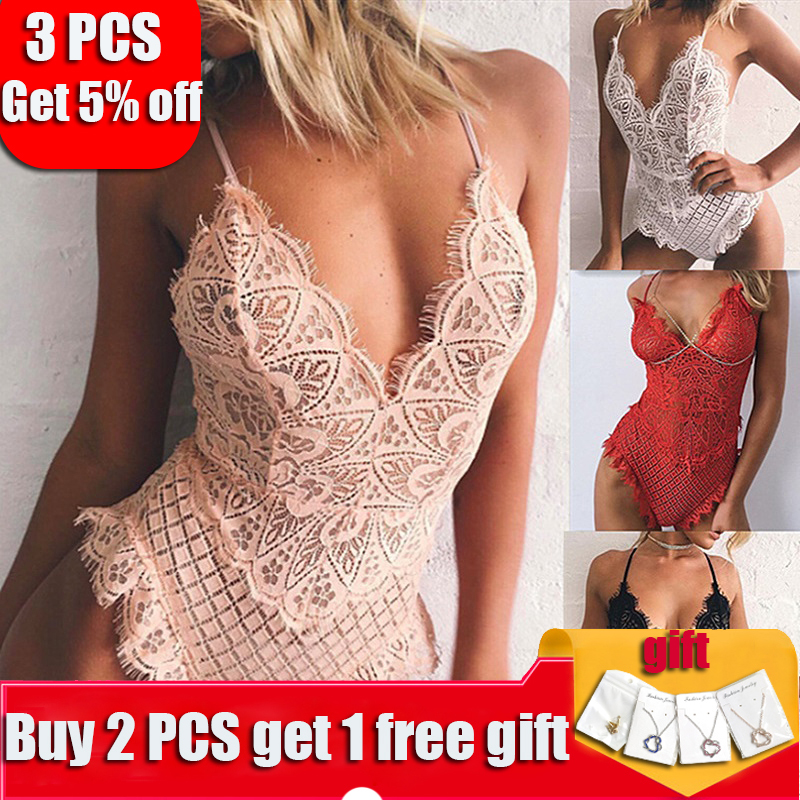 Women   Bra     Set   Lingerie Corset Lace Underwear For Women Bodysuit Temptation Intimates Sexy Lingerie Nightwear Sling Bodysuits