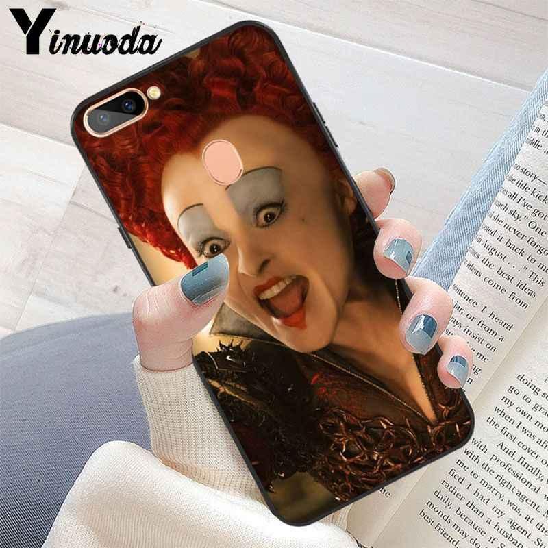 Yinuoda «Алиса в стране чудес» из мультфильма Чеширского на руку люксовый уникальный дизайн чехол для телефона чехол для OPPO R11 R11S плюс R17Pro R9S плюс R9 R9S плюс