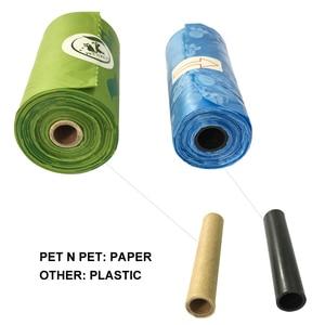 Image 5 - Biodegradable Dog Poop Bags Cornstarch Earth Friendly Zero Waste 17 Micron ASTM D6400 Cat Waste Bag пакеты для собак