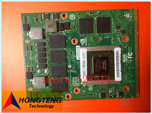 Original 607-1W0B1-A10 FOR MSI Graphics BOARD / Video Card BOARD MS-1W0B1 fully tested