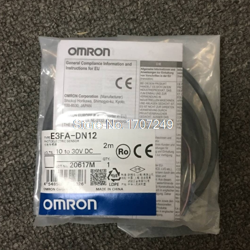Image 2 - 100% new original OMRON photoelectric switch sensor E3FA DN11 E3FA DN12 E3FA DN13 E3FA DN14 E3FA DN15 sensor 2M wireSwitches   -