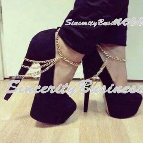 Sexy Women Silver anklet,3 Row Drapped Chains Anklet Foot Bracelet ,Foot Chain For Heel Shoe Jewelry