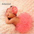 Anlencool 2 pcs set baby girl dress infantil primeiro aniversário roupa de festa bolha romper saia cabeça bebe newborn baby dress conjunto
