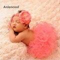 Anlencool 2 unids set baby girl dress infantil primero cumpleaños party outfit mameluco burbuja falda diadema recién nacido bebe bebé dress conjunto