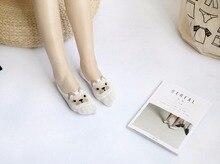 Women's Low Cut Cat Socks – 6 pairs